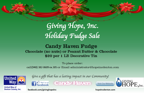 Candy Haven Fudge Flyer